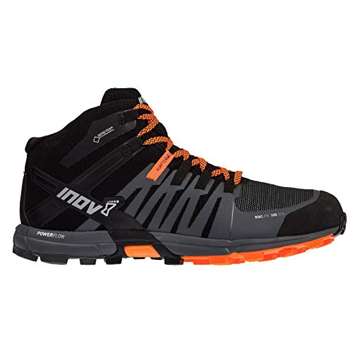- Inov-8 Men's Roclite 320 GTX Trail Running Boot - Black/Grey/Orange - 000716-BKGYOR-M-01 (Black/Grey/Orange - M9 / W10.5)