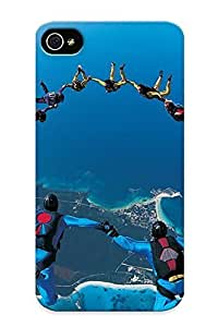 9568f1a3422 New Premium Flip Case Cover Base Jumping Skin Case For Iphone 4/4s As Christmas's Gift
