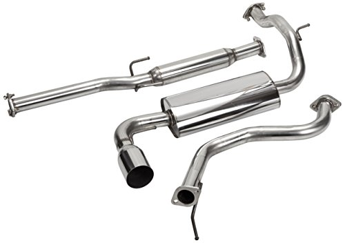 Spec-D Tuning MFCAT2-CV88 Honda Civic 3 Door Dx Si Hatchback Catback Exhaust System