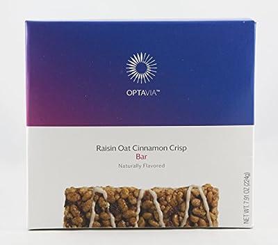 Optavia Raisin Oat Cinnamon Crisp Bar - 7 Servings