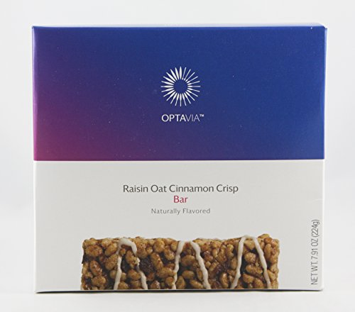 Optavia Raisin Oat Cinnamon Crisp Bar - 7 Servings by Optavia