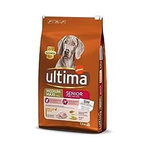 Ultima Pienso para Perros Medium-Maxi Senior de +7 Años con Pollo – 7500 gr