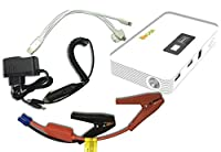LifeBox Car & Truck Jump Starter w/ 400 Peak Amps 10000 mAh Portable Battery Charger