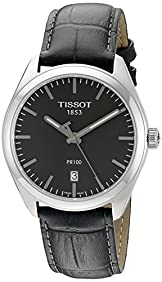 Tissot Men's T1014101644100 PR 100 Analog Display Swiss Quartz Grey Watch