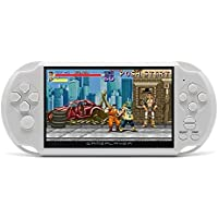 Coolbaby X9  5 Inch Large Screen LCD Nostalgic 8GB Handheld Retro Game Console Video game - White