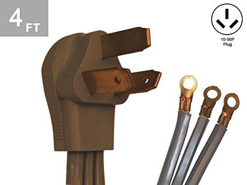 TES 4 Ft. 8/2-10/1 40 Amp 3 Wire Range Cord Kit