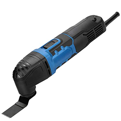 G LAXIA Oscillating Tools, 280W Oscillating Multitool Kit with 3 Degree Oscillation Angle, 6 Variable Speed, 17 Pieces…