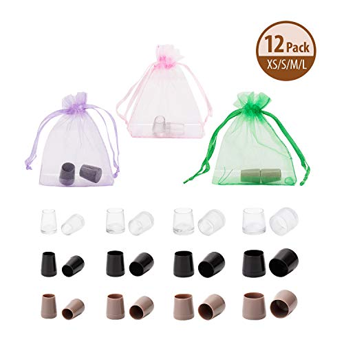 Heel Protector Slip Non (Heel Protectors - 12 Pairs, Heel Stoppers High Heel Protectors for Women's Shoes, Non-Slip, Anti-Wear, Extra Small/Small/Middle/Large, Perfect for Indoor & Outdoor Location, A Best Gift for Woman)