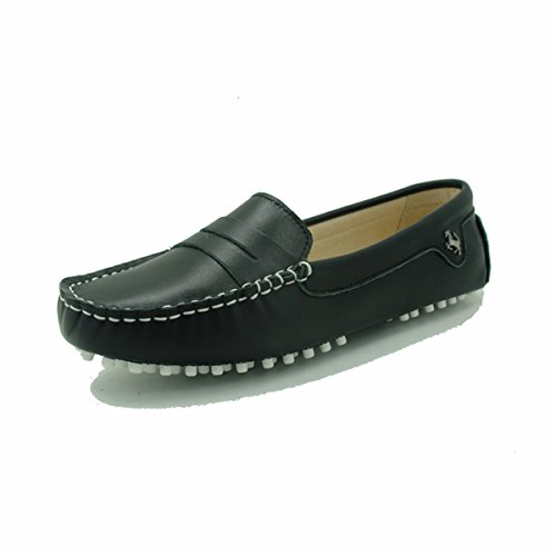 Driving On Leather Moccasins Luxury Goeao Slip Flats Casual Classic Black Loafers Womens Shoes Boat Yq8YIR