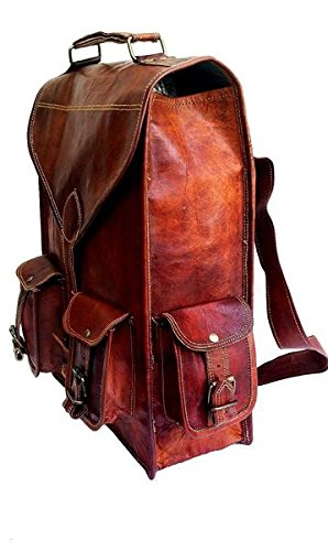 Hunter Messenger 6 Leather Bag Satchel Laptop Inches 11 Regular Laptop Tuzech AqdwgA