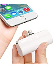 iWALK Mini Power Bank 3350mAh, Portable Phone Charger Compact Powerbank with Built in Plug, External Battery Bank Compatible with iPhone 12/12 mini/12 Pro/SE 2020/11/11 Pro/XS/XR/X/8/8 Plus/7/6/6S