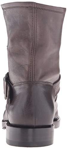 Frye Women's Natalie Short Engineer Boot, Black, 6 M US Charcoal