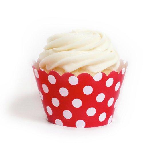 Dress My Cupcake Polka Wrappers