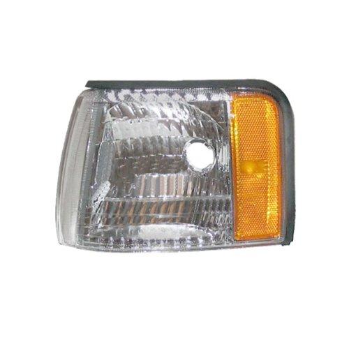 Cadillac Deville Aftermarket (1997-1998-1999 Cadillac Concours & DeVille Corner Park Light Turn Signal Marker Lamp Left Driver Side (97 98 99))
