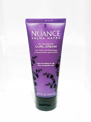 Price comparison product image Nuance Salma Hayek Blue Agave Curl Cream with Color Lock Technology 3.4 Fl Oz
