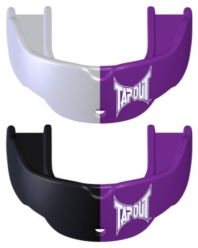 Adult Mouth Guard Purple x 2 Ages 12+ by TapouT by TapouT
