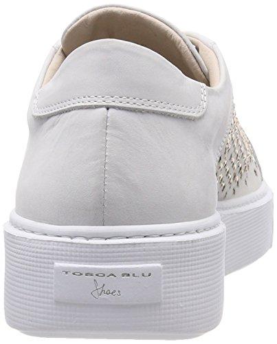Bianco Tosca Zapatillas Blanco C00 Mujer Flamenco para BLU wSw1zqY