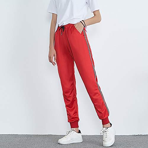 Donna GiveKoiu GiveKoiu Red Pantaloni Pantaloni W8FrFt5Uqn