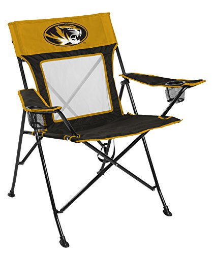 Rawlings NCAA Missouri Tigers Unisex 00643086111NCAA Game Changer Chair (All Team Options), Black, Adult