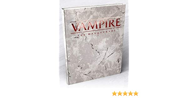 Vampire The Masquerade: 5th Edition Core Rulebook Deluxe Alternate Cover