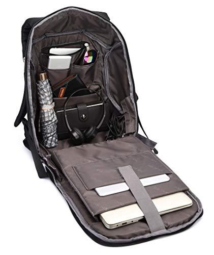 Fur Jaden Anti Theft Waterproof Backpack with USB Charging Port