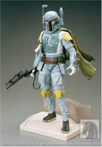 Pre Painted Vinyl Model - Star Wars Kotobukiya ARTFX Deluxe 1/7 Pre-Painted Vinyl Statue Boba Fett