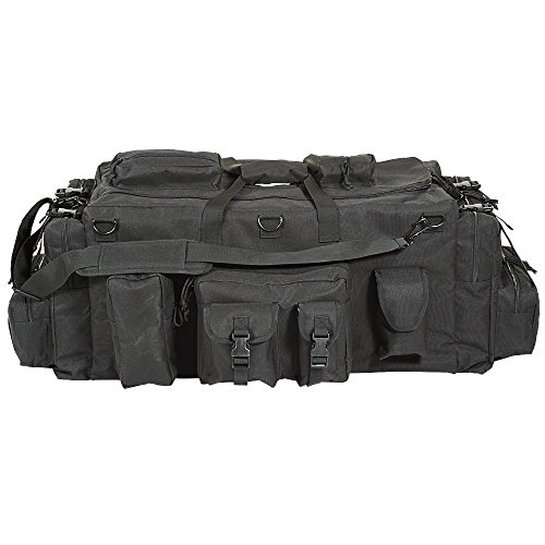VooDoo Tactical Men's Mojo Load-Out Bag with Backpack Straps, Black