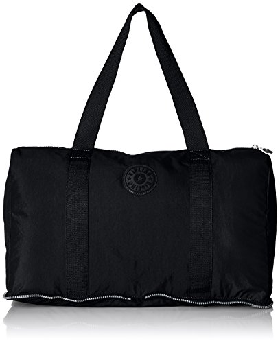 Kipling Women's Honest Solid Packable Duffle Bag, Black by Kipling