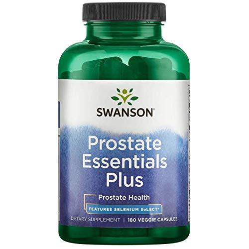 Swanson Prostate Essentials Plus 180 Veg Capsules