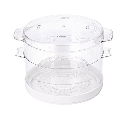 5 Quart Electric Food Steamer Vegetable Healthy Kitchen Bowl Veggie Steam Cook by Dekchokdee (Image #2)