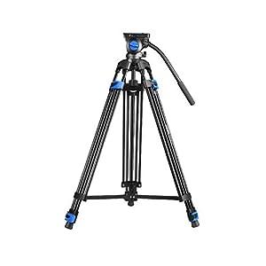 RetinaPix DIGITEK® DPTR 620 VD (76 Inch) Heavy Duty Video Tripod with Aluminum Alloy with 3 Way Head Adjustable Pan