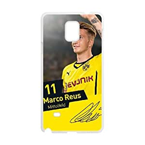 Samsung Galaxy Note 4 Phone Case White Marco Reus DY7693711