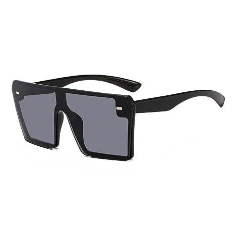 Amazon.com : YLNJYJ Moda De Gran Tamaño Sin Montura Gafas De ...