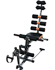 Fitness World Six Pack Care Abdominal Machine With Bicycle