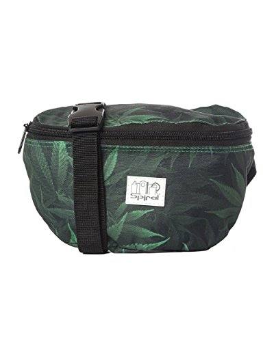 [iHeartRaves Ganja Weed Fanny Pack (Green)] (Weed Bag Costume)