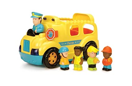 Amazoncom Rev And Roll Light And Sound School Bus Toys Games