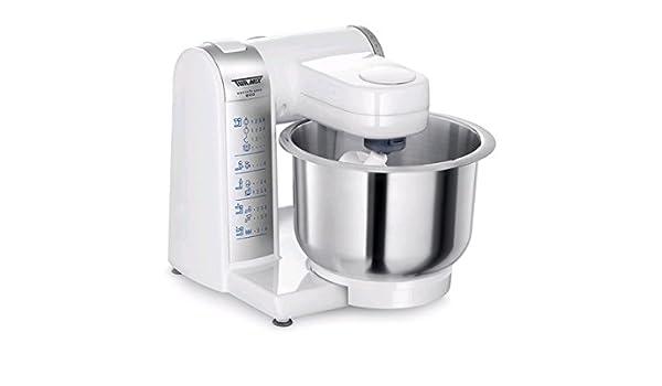 Turmix A33126 600W 3.7L Blanco - Robot de cocina (3,7 L, Blanco, 3,9 L, 3,9 L, Acero inoxidable, 600 W): Amazon.es: Hogar