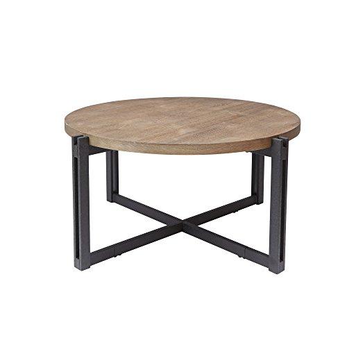 Silverwood FT1275-COF-RWO Dakota Coffee Table with Round Top, 39