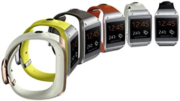 Montre connectée Samsung Galaxy Gear blanche & or rose