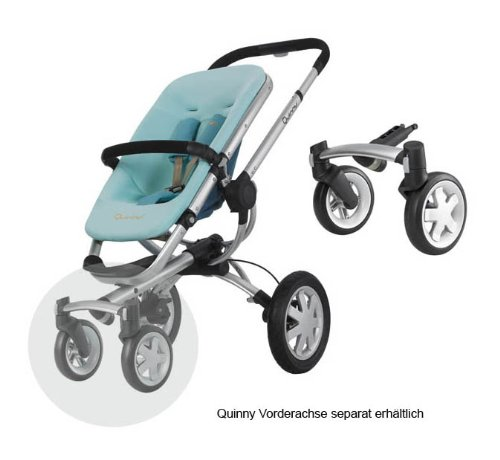 Quinny 60303000 Buzz 3 - Silla de paseo con cesta, capota, protector para la lluvia y adaptador para capazo MaxiCosi (3 ruedas), color turquesa: Amazon.es: ...