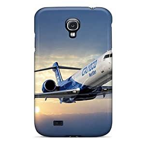 Premium Skyscapes Crj 1000 Back Cover Snap On Case For Galaxy S4