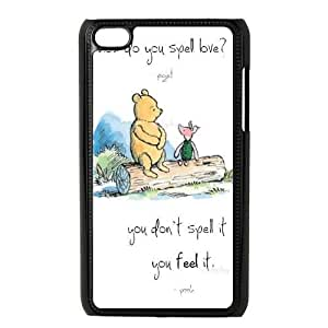 Winnie the Pooh Quote DIY Cover Case for Ipod Touch 4,Winnie the Pooh Quote custom cover case