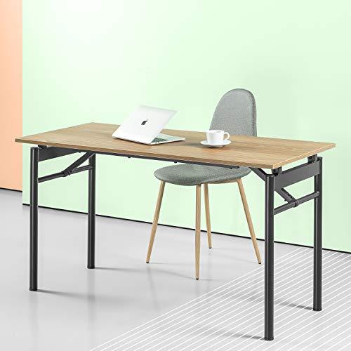 Zinus Mare Folding Desk 55 Inch Computer Workstation Table