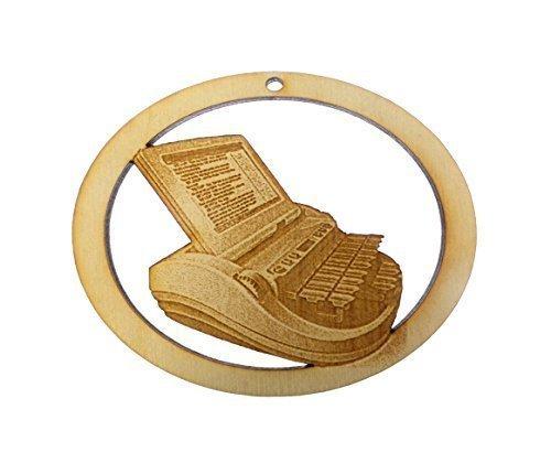 Stenographer Ornament - Gift for Stenographer - Court Reporter Ornament - Gift for Court Reporter - Stenograph Ornament (Stenograph Accessories)