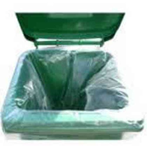 Opalion CLR-WHEEL Clear Wheelie Bin Liners (Pack of 100) Opalion Plastics Ltd