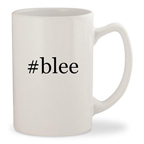 #blee - White Hashtag 14oz Ceramic Statesman Coffee Mug Cup