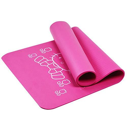 mengzhifei Yogamatte für Mädchen, dick, rutschfest, Yogamatte für Mädchen, Übungsdecke für Kinder, Zuhause, Tanzmatte, Babypraxis