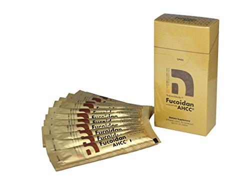 NatureMedic Fucoidan AHCC, 10 liquid packets/box, Made in Japan [NEW PACKAGE]