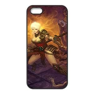 diablo iii iPhone 4 4s Cell Phone Case Black 53Go-150138