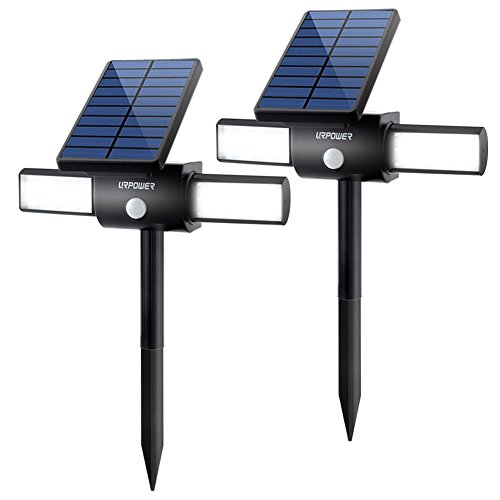 Urpower 24led Solar Lights With Dual Head Usb Charging